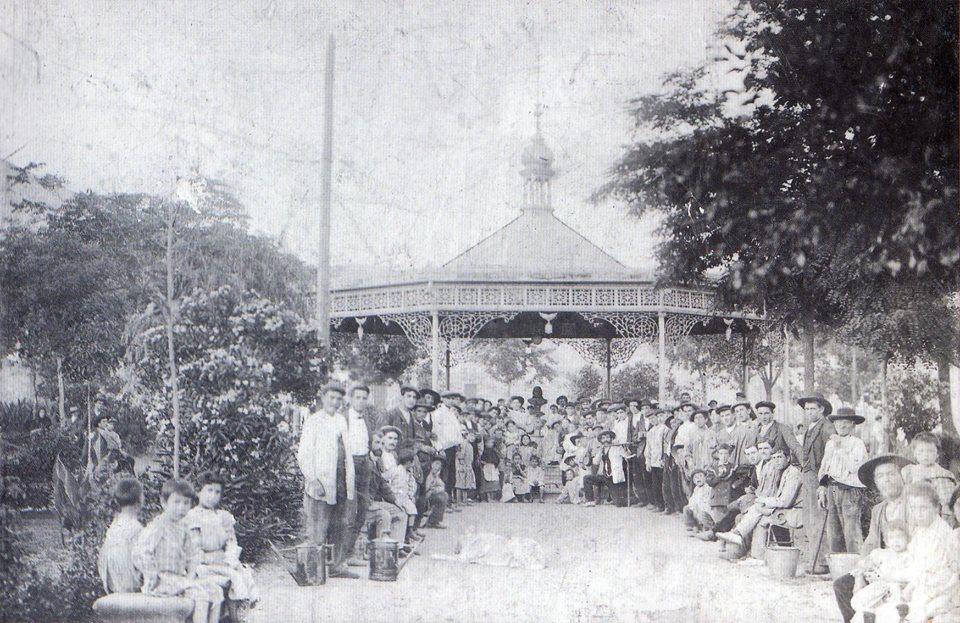 Fuente Agria 1905. Archivo José Cabañero Alcaide