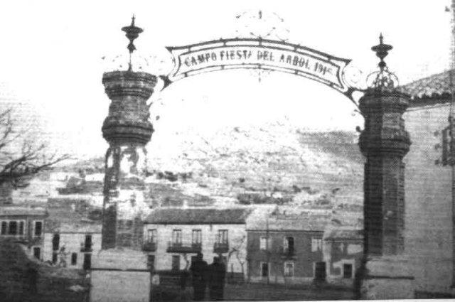 Fiesta del árbol. 1915