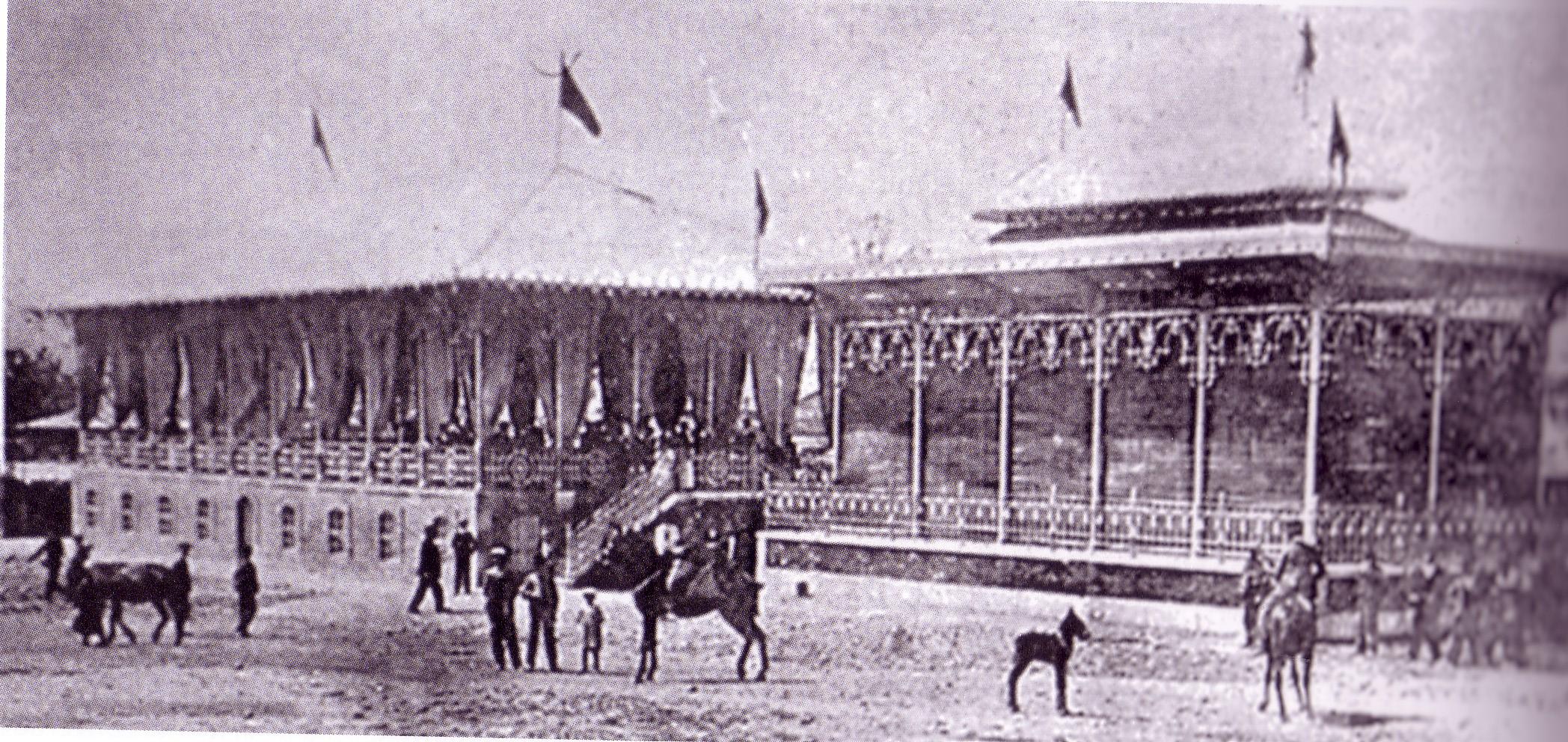 Pabellones- Feria 1912. Archivo UCLM