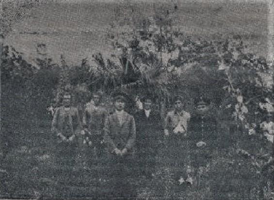 Jardineros Municipales. Principios Siglo XX