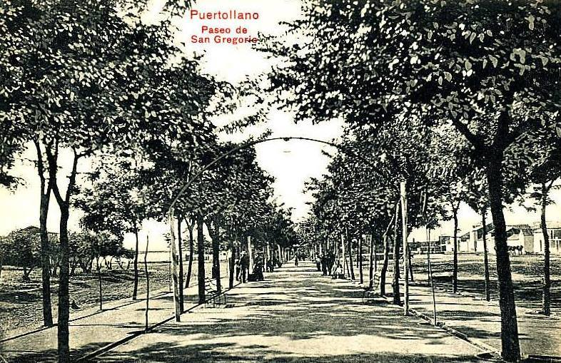 Paseo San Gregorio y los último olivos 1911