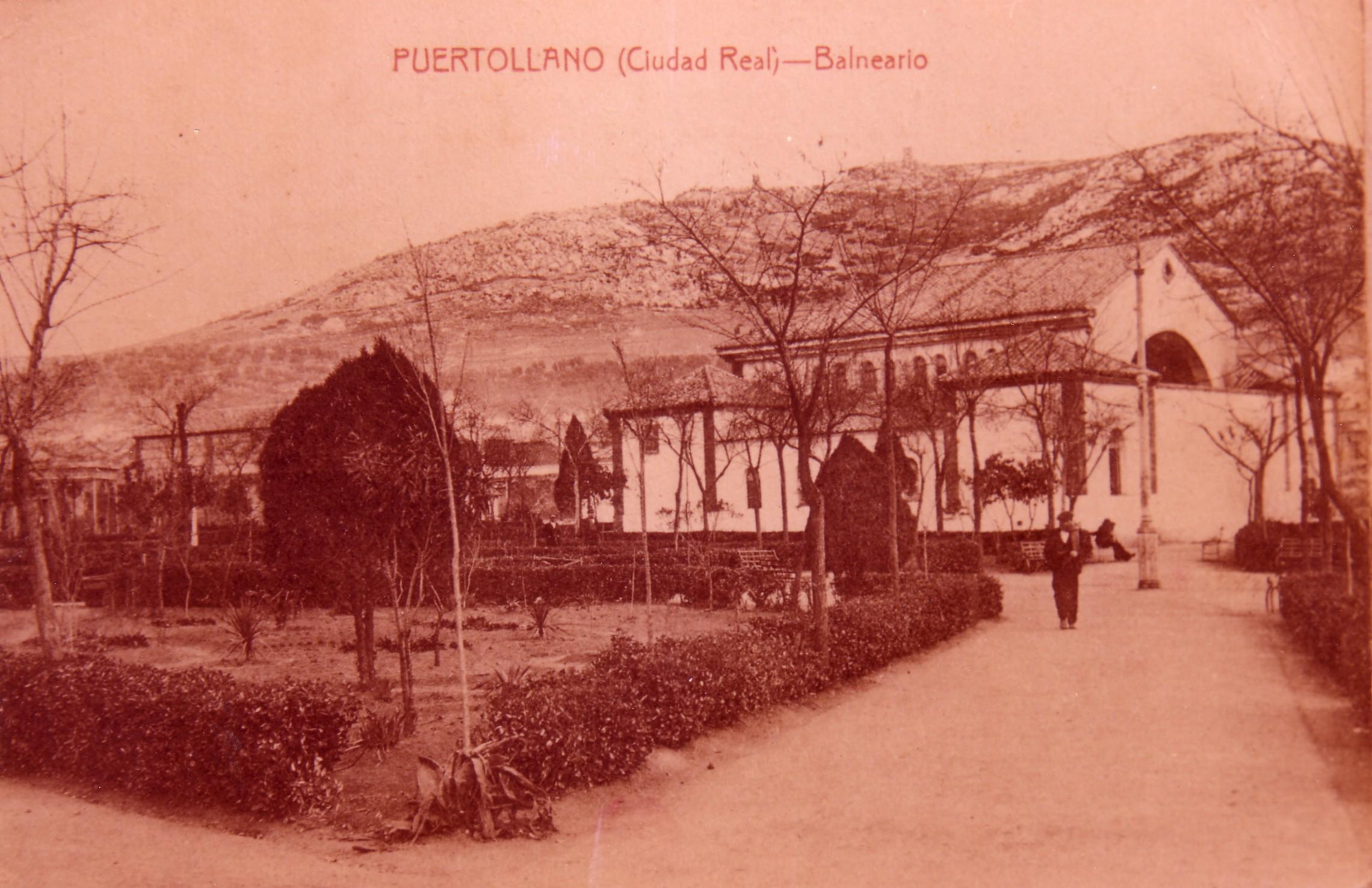 Casa de Baños 1900-1920. Fotografía Enrique Malagón