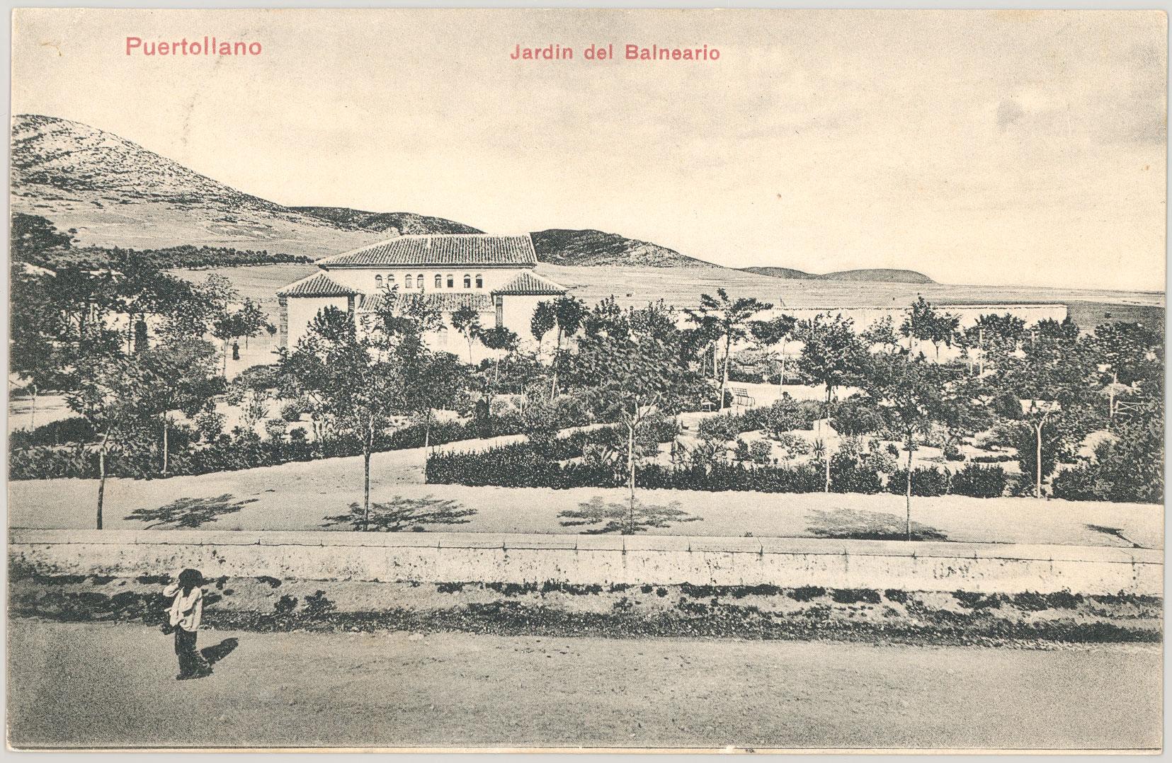 Jardín del Balneario 1906