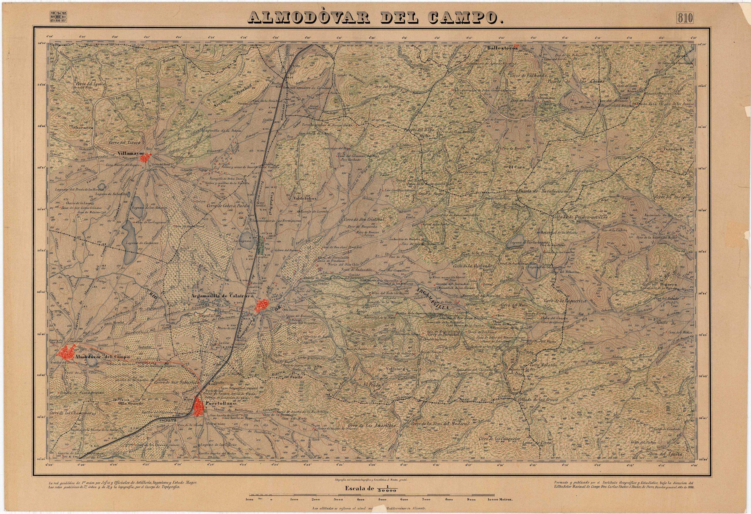 Mapa comarcal de 1888