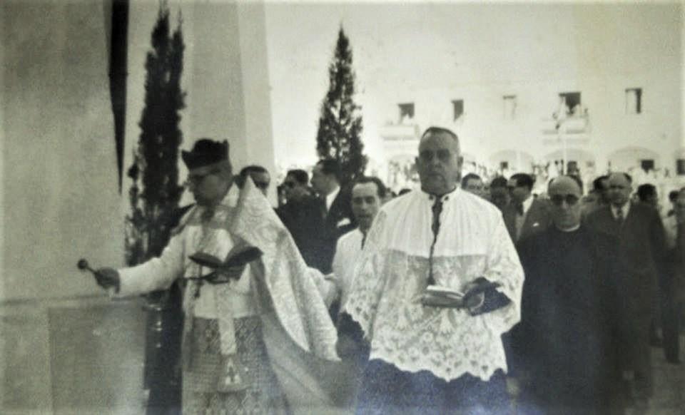 Bendición de la parroquia de San José 1956