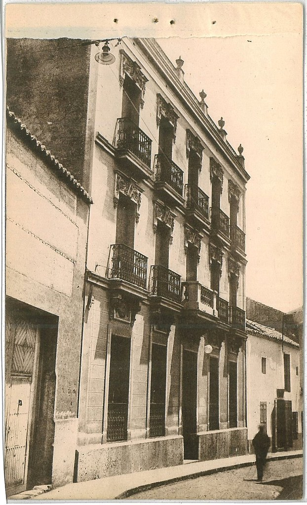 Hotel Castilla en calle Aduana. Fotografía Oña