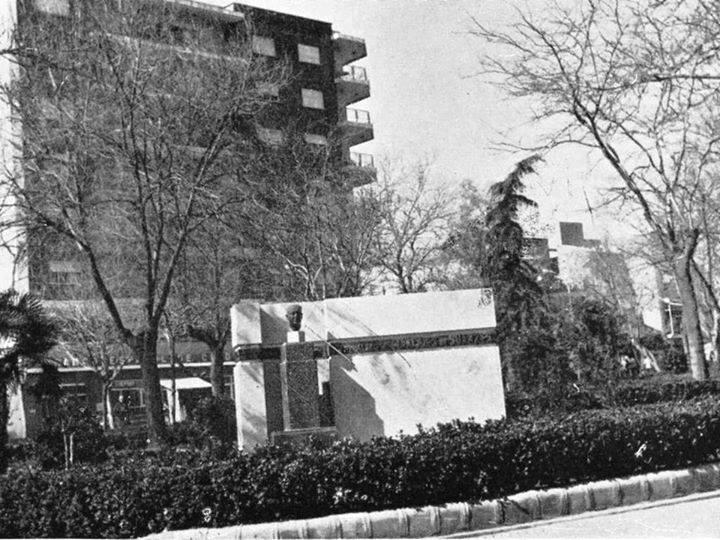 Monumento al Marqués de Suanzes. Autor Horacio de Eguia y Quintana. 1967