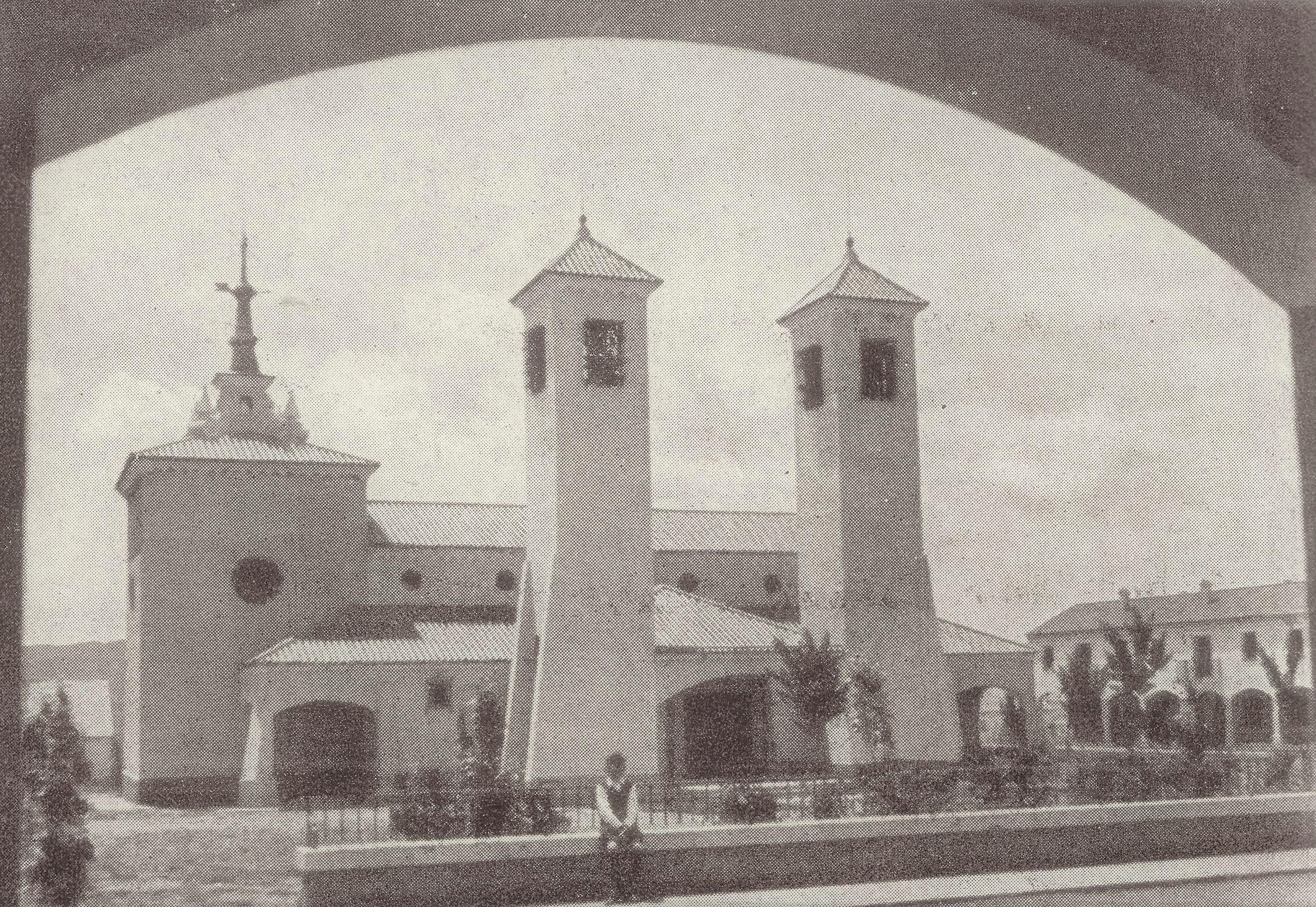 Iglesia San José construida en 1956