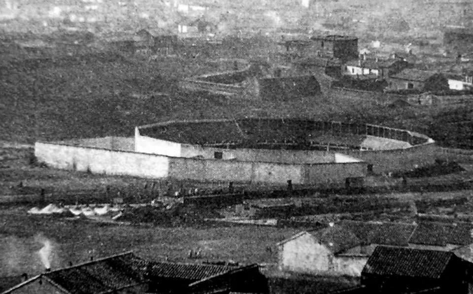 Plaza de Toros en 1916