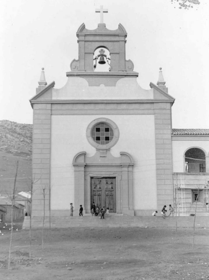 Iglesia María Auxiliadora del colegio salesiano San Juan Bosco de Puertollano. 1953