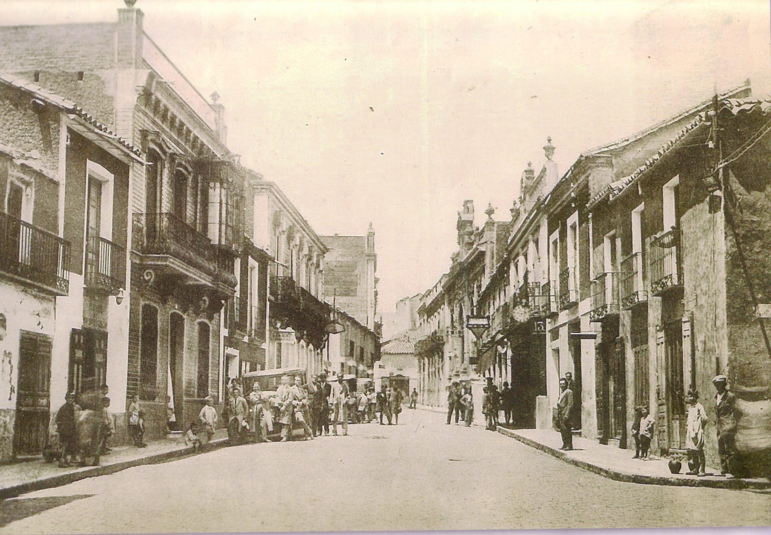 Calle Aduana 1930 Fotografía Oña