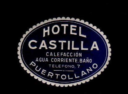 Recuerdo del Hotel Castilla