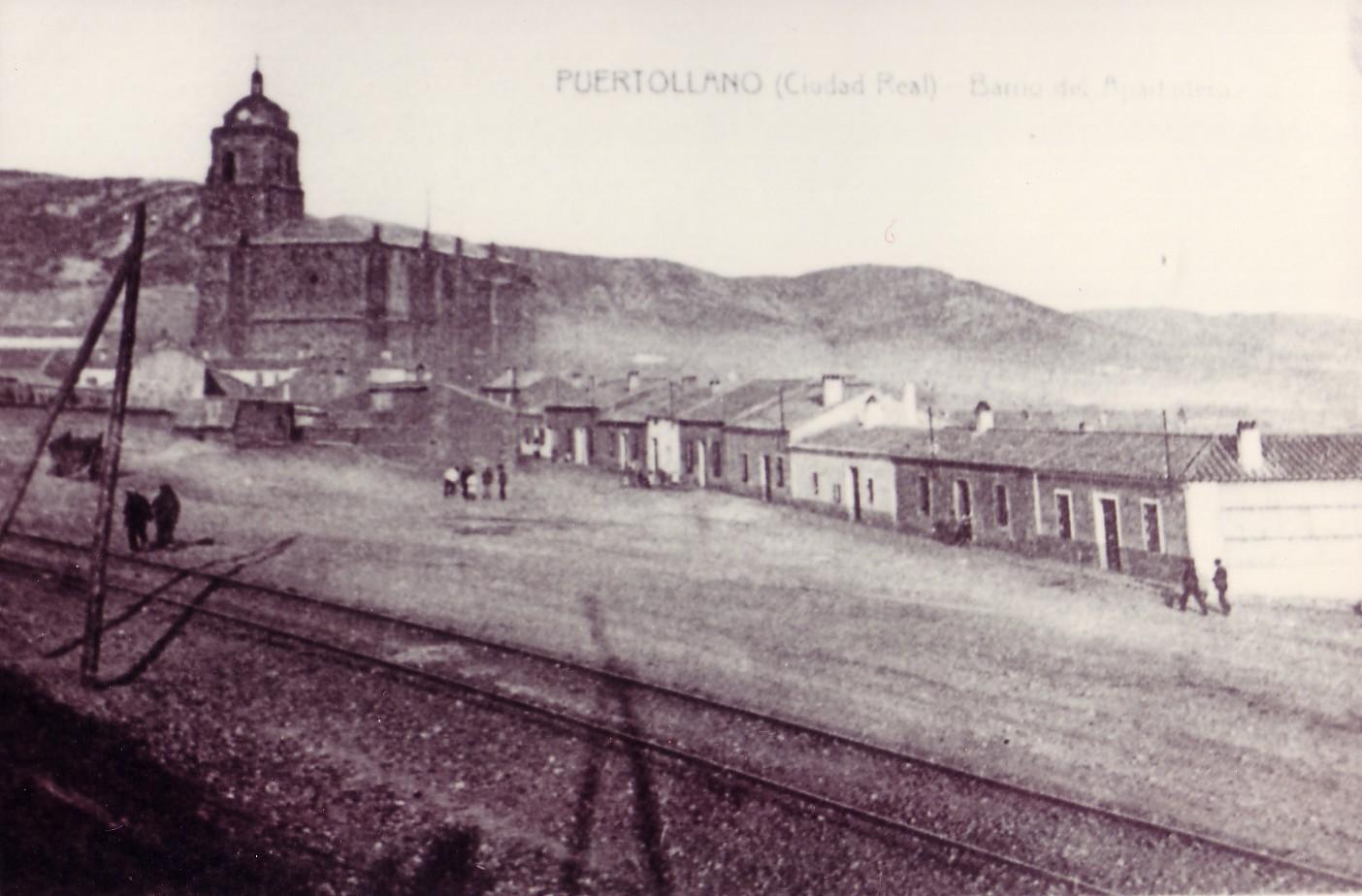 Parroquia de la Asunción y Barrio del Apartadero 1915 Fotografía Enrique Malagón