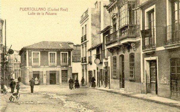 Calle Aduana (vista desde el Ayuntamiento) 1905-1920 Fotografía Enrique Malagón