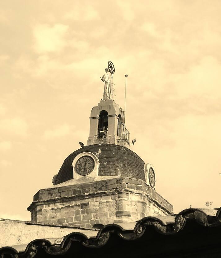 Nuevo Sagrado Corazón realizado en 1940 por el escultor de Puertollano D. Manuel Santos