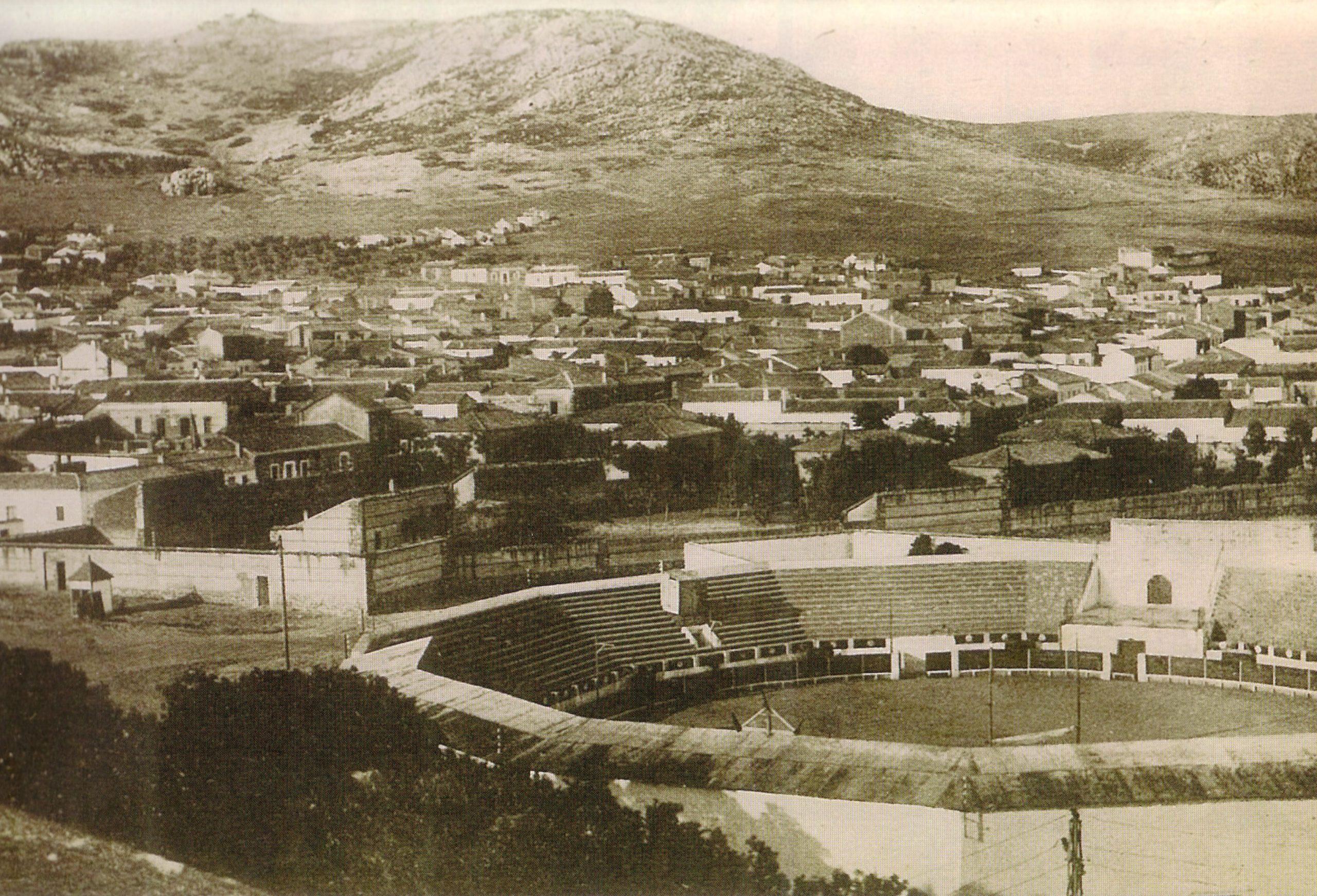 Plaza de Toros. Fotografía. Oña. 1930