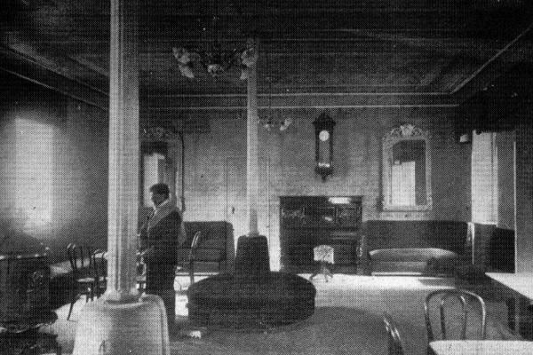 Interior casino 1921