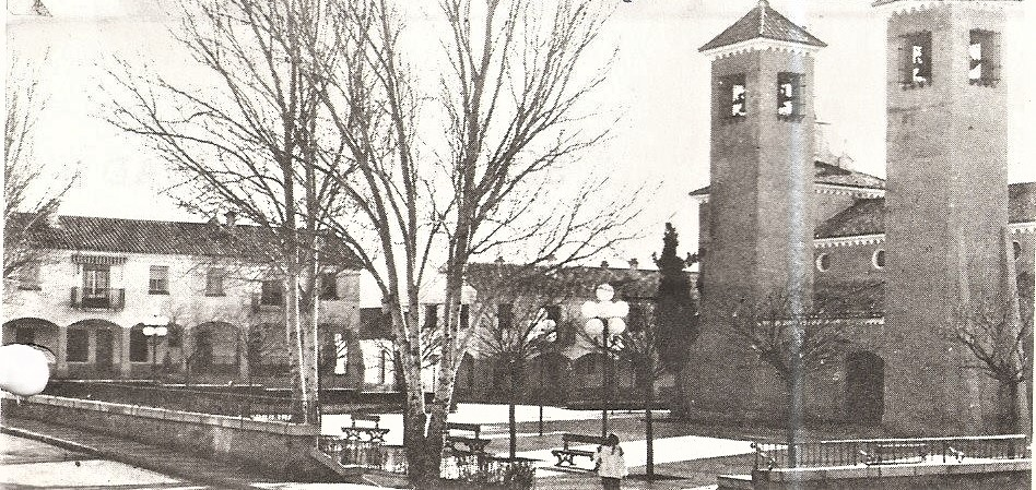 Plaza San José. Años 80
