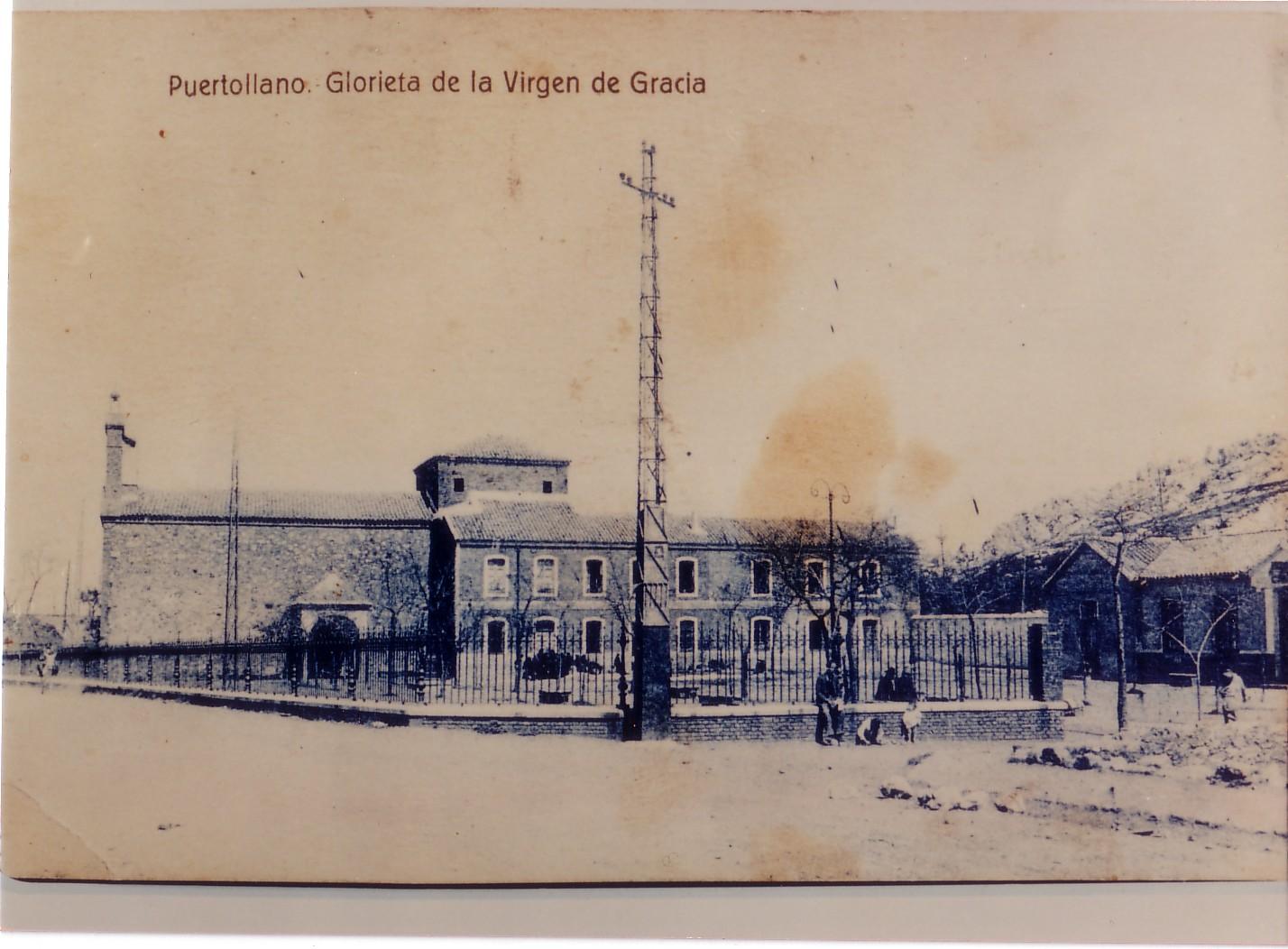 Ermita Nuestra Sra. de Gracia. Fotografía Oña 1930