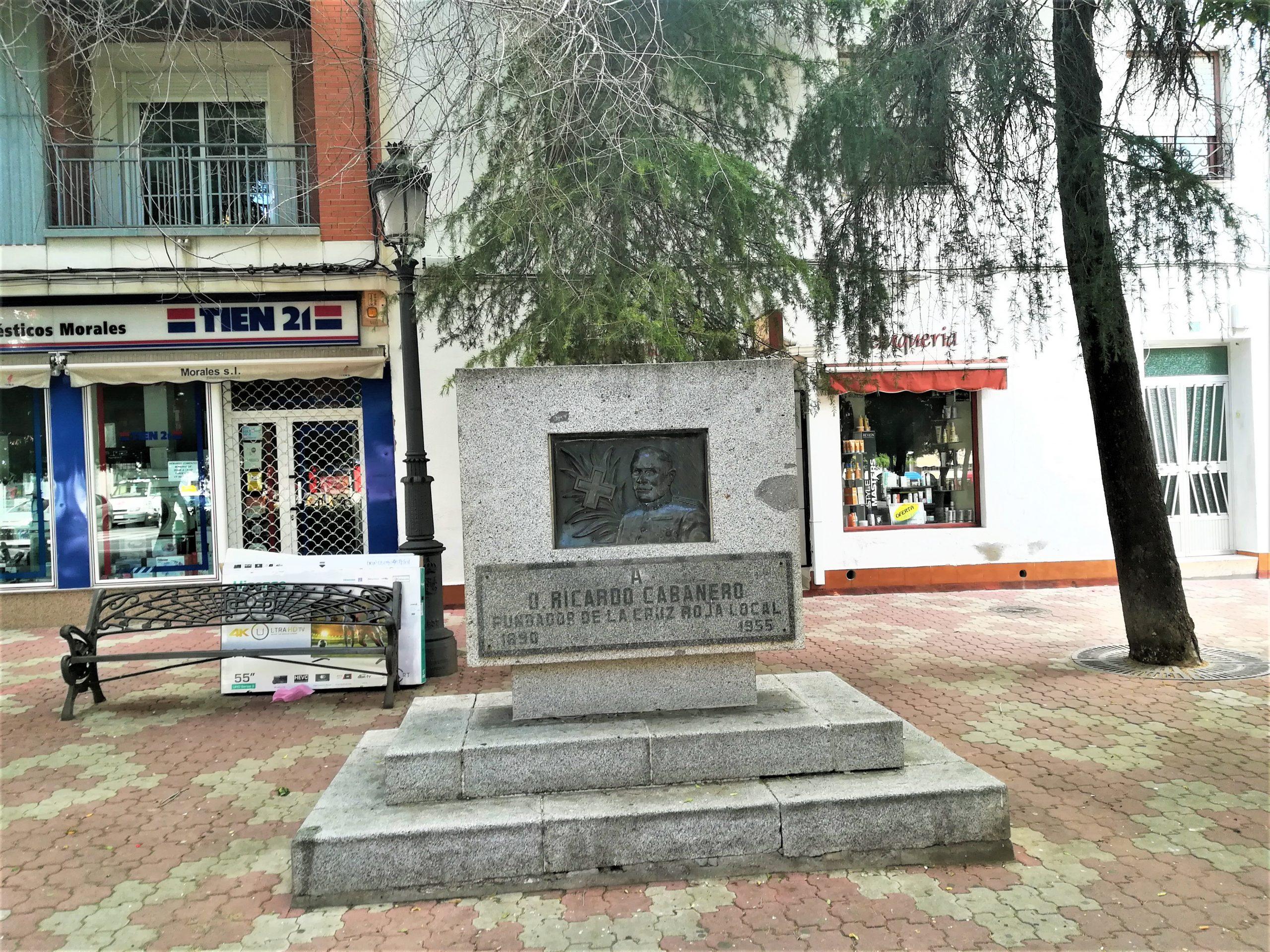 Monumento Ricardo Cabañero Fotografía F. Negrete 2019