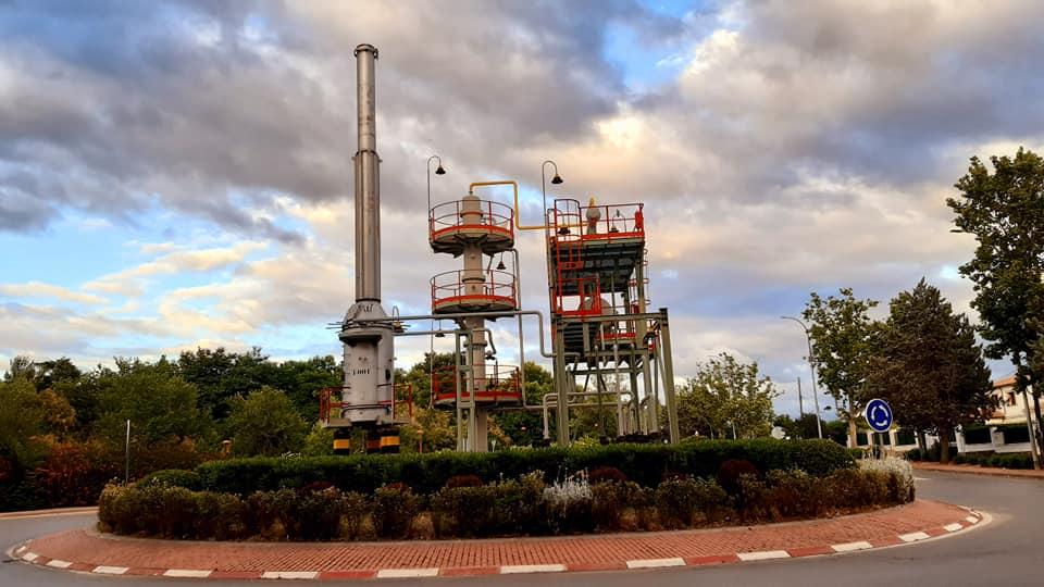 Monumento al Complejo Petroquímico Fotografía Esmeralda Aguirre