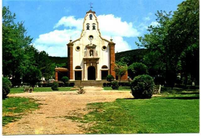 Iglesia Santa Bárbara. Años 60 Archivo F. Negrete