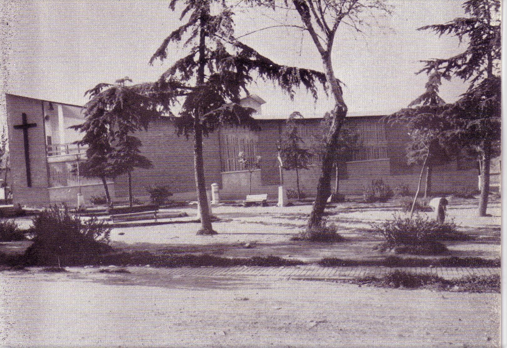 Plaza del Minero e Iglesia San Antonio de Padua. 1972