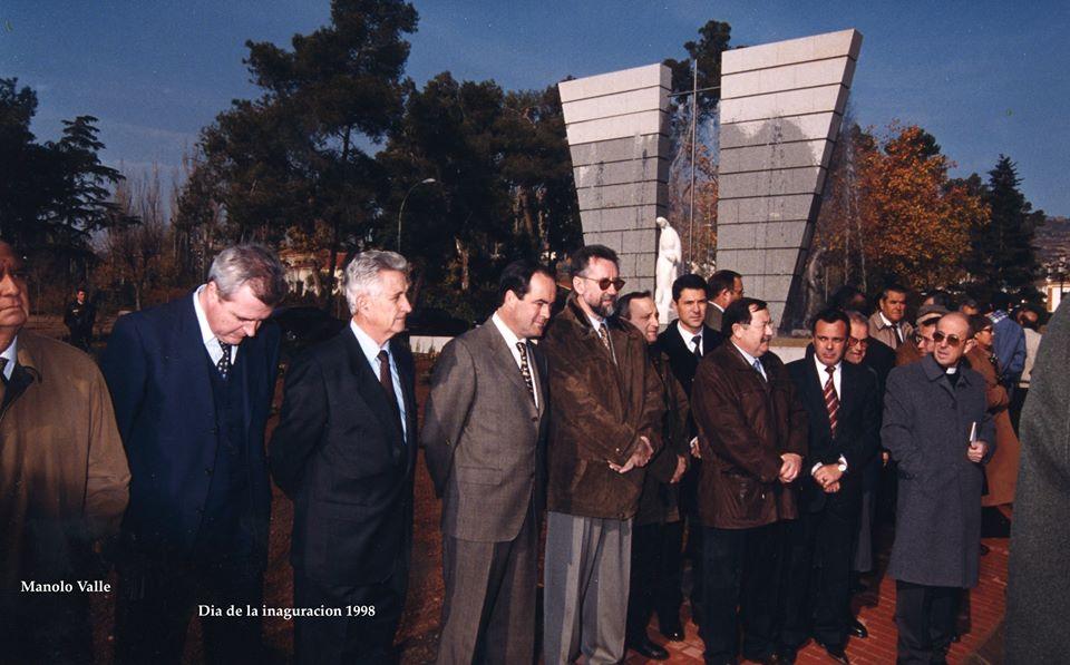Día de la segunda inauguración, en su segundo sitio. 1998 Archivo Aumi Arias