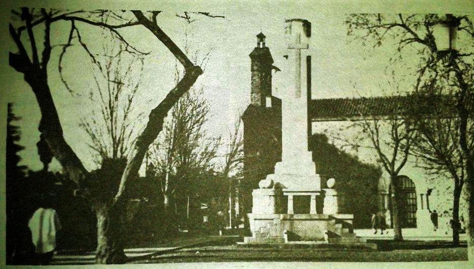 Monumento a los Caídos. Década de los 60
