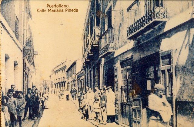 Calle Mariana Pineda (hoy calle Calzada) años 30