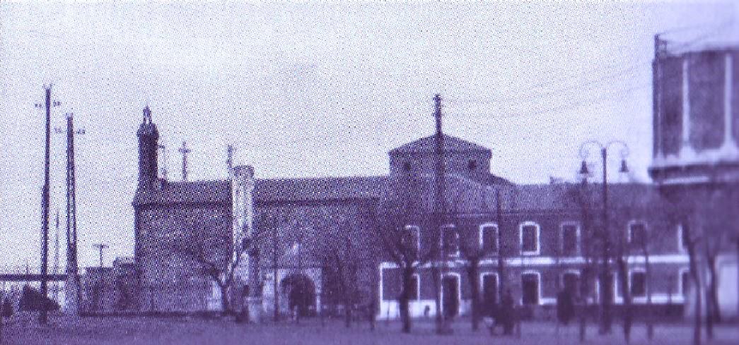 Iglesia Virgen de Gracia. Años 50