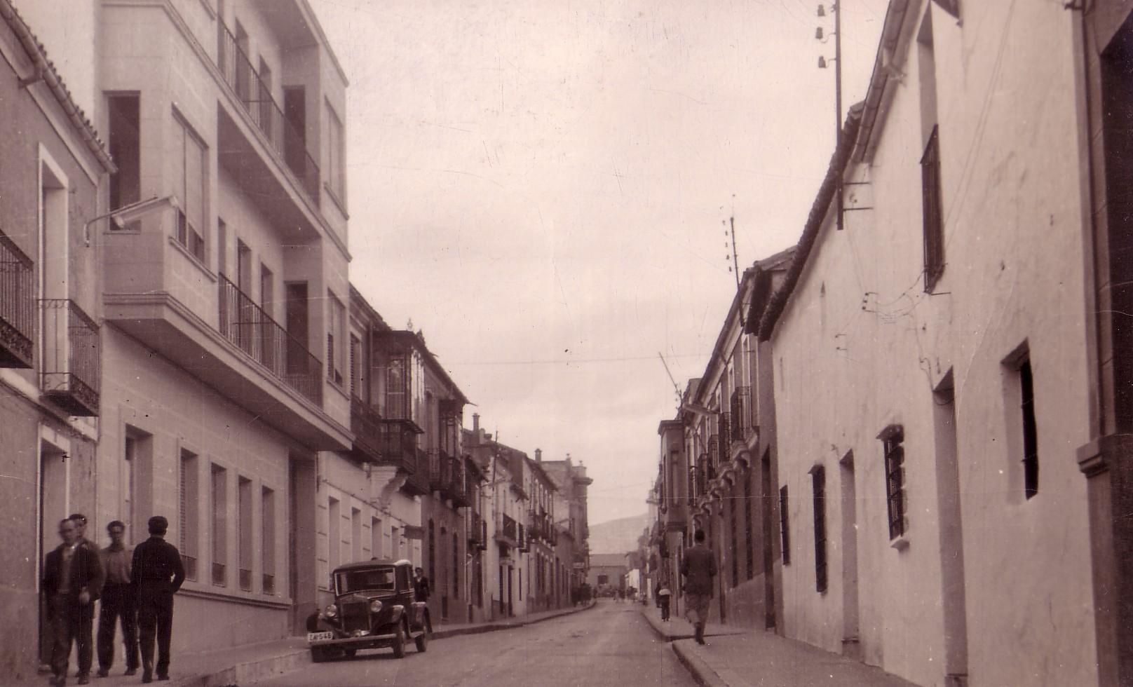 Calle Cruces. Años 60 Archivo F. Negrete
