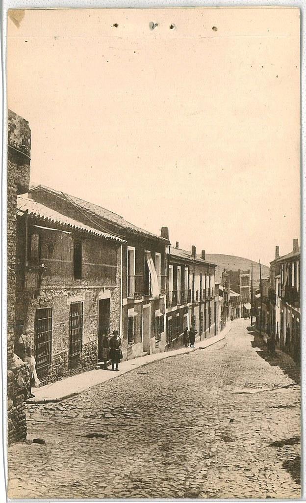 Calle Torrecilla (vista desde calle Cuadro) Años 30 Fotografía Oña