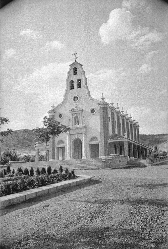 Parroquia de Santa Bárbara 1946 Fotografía Wunderlich, Otto