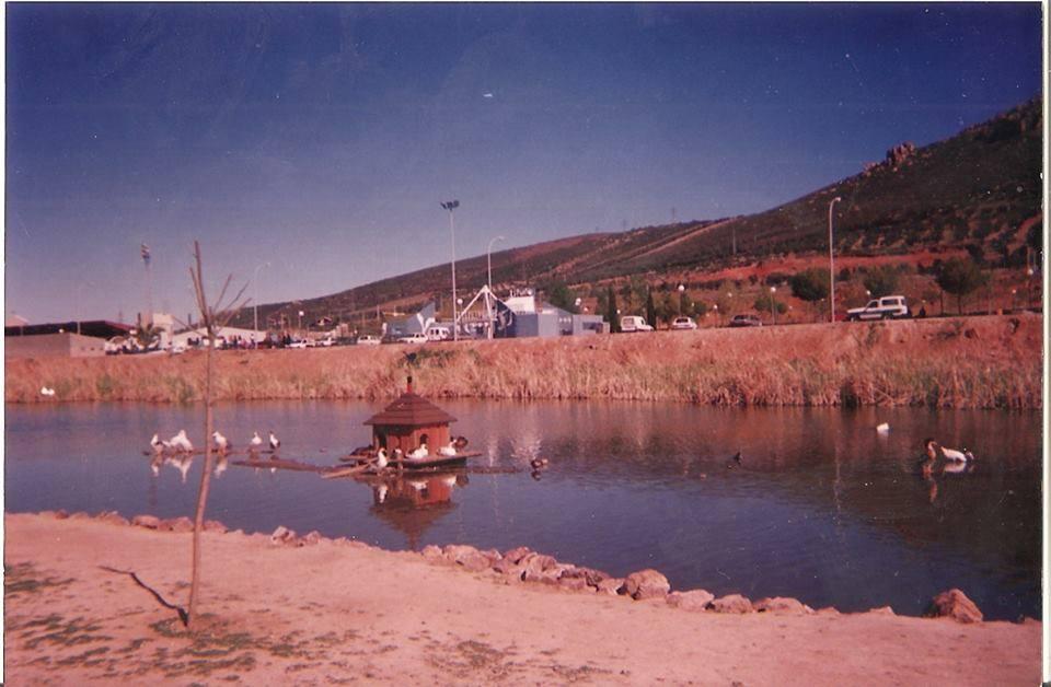 Años 90 principio del nuevo parque de las pocitas del prior. Archivo Felipe Valentín García