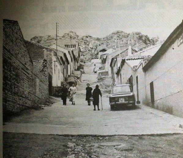 Calle Santísima Trinidad. Barrio San Sebastián. Finales de los 60