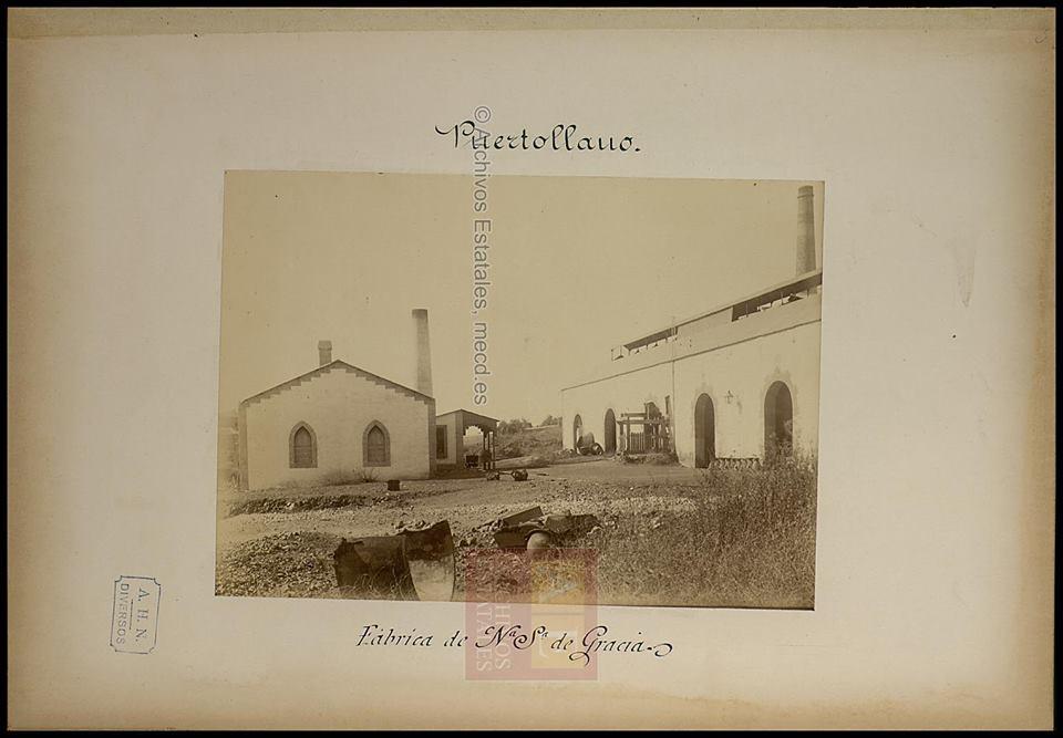 Fundición Nuestra Señora de Gracia. Inauguración 1881. Archivos Estatales.