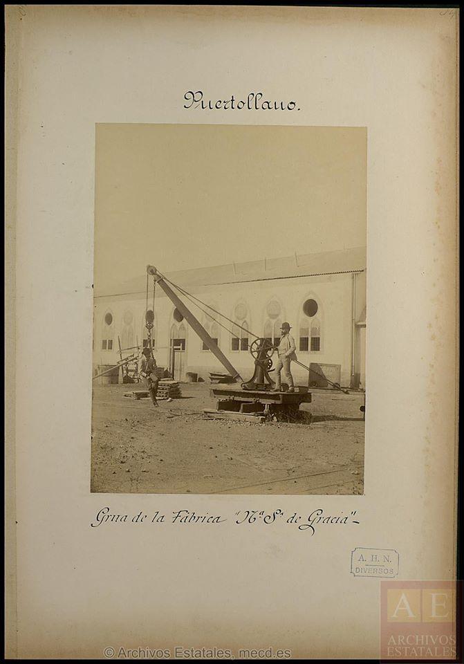 Fundición Nuestra Señora de Gracia. Inauguración 1881 Archivos Estatales