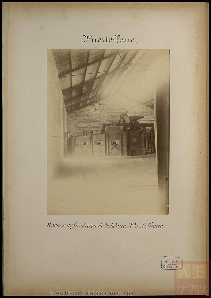 Fundición Nuestra Señora de Gracia. . Hornos de la fundición. Archivos Estatales
