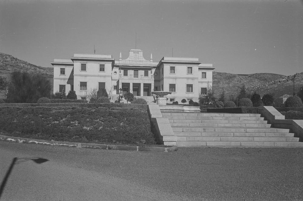 Residencia de Ingenieros. Fotografía Wunderlich Otto. Fotografía tomada hacia 1952
