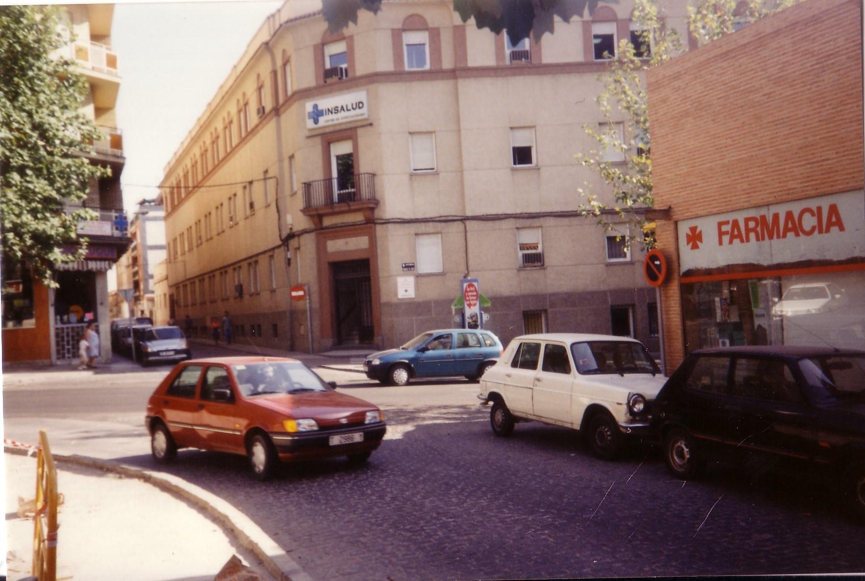 Centro de salud nº 1. 1990 Fotografía Negrete