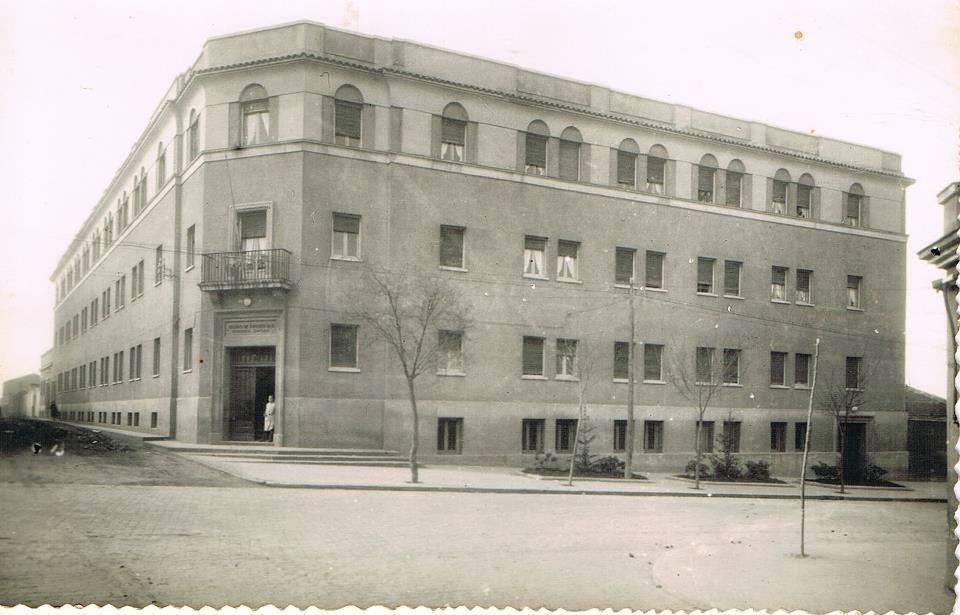 Hospital Santa Bárbara de la Avenida de los Mártires, hoy Centro de salud nº 1