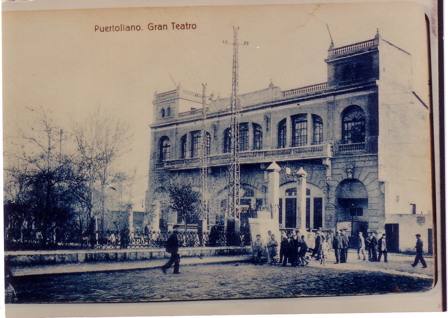 El Gran Teatro recién inaugurado. 1920