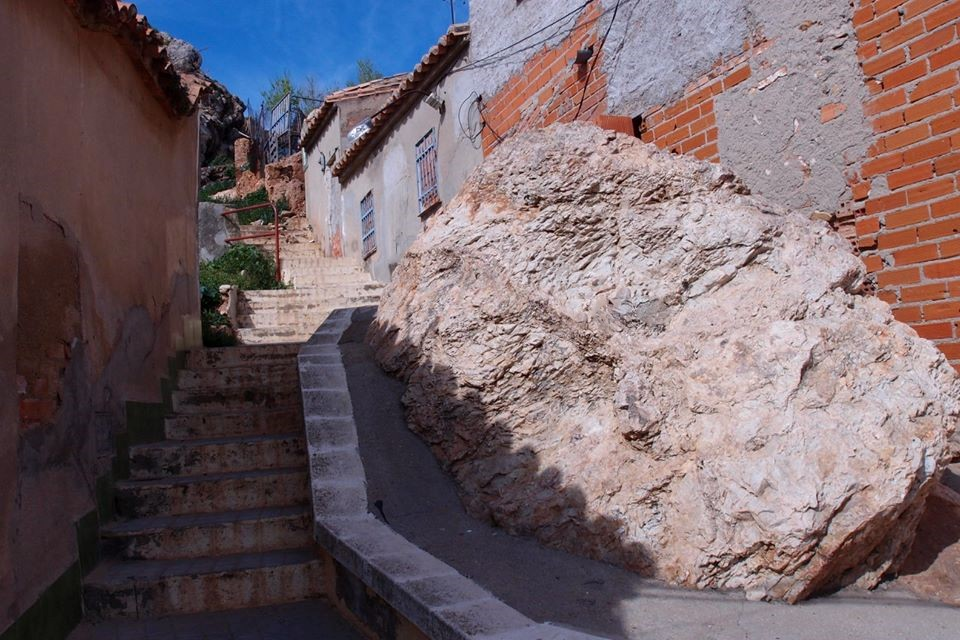 Calle de la barriada San Sebastián. 2017 Archivo Faustino Miragalla