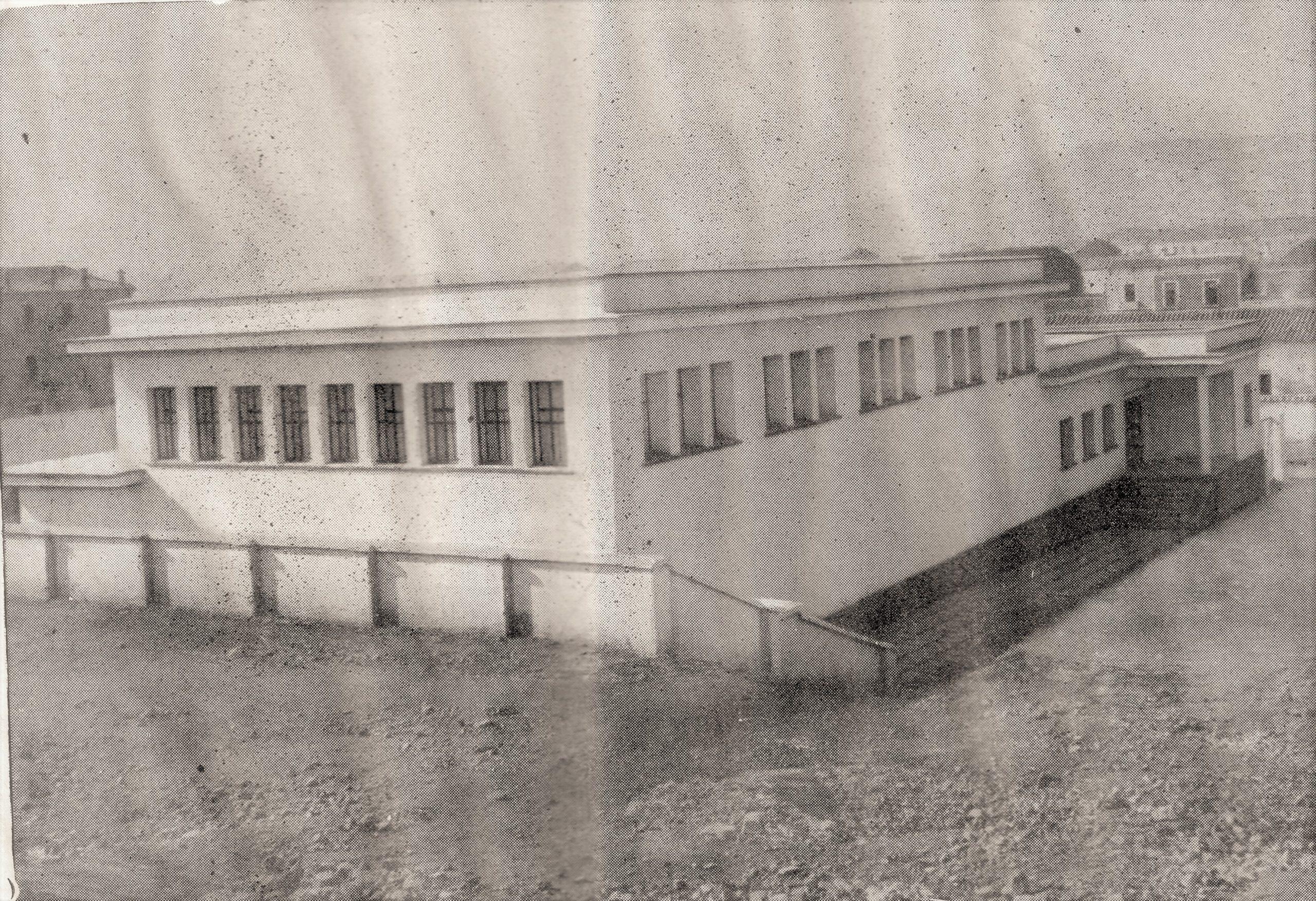 Gimnasio Municipal 1960 Fotografía Oña