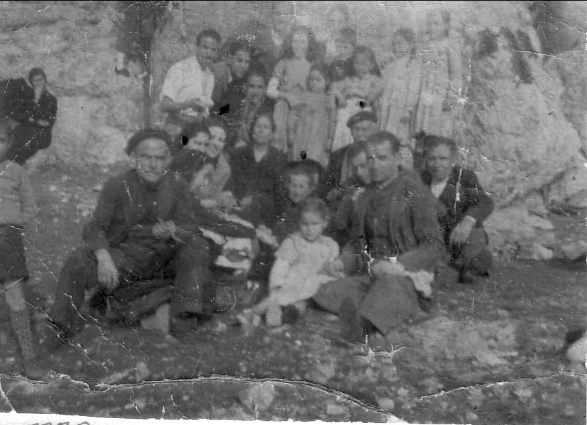 Día del chorizo. Chimenea Cuadrá. Archivo F. Negrete 1949