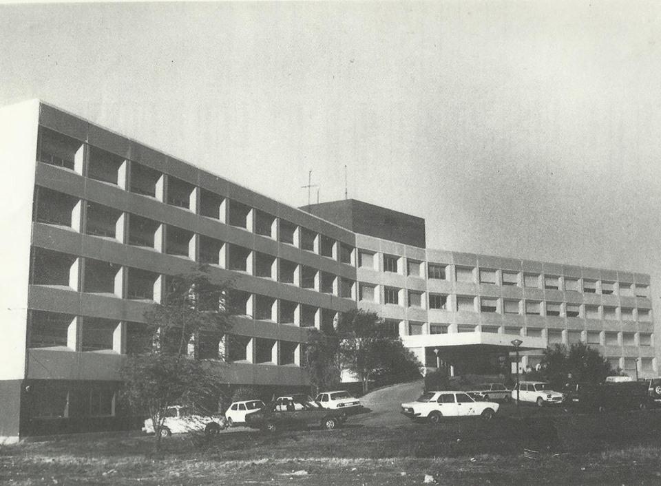 Inauguración del hospital Santa Bárbara- 1973 Fotografía Felipe Valentín García