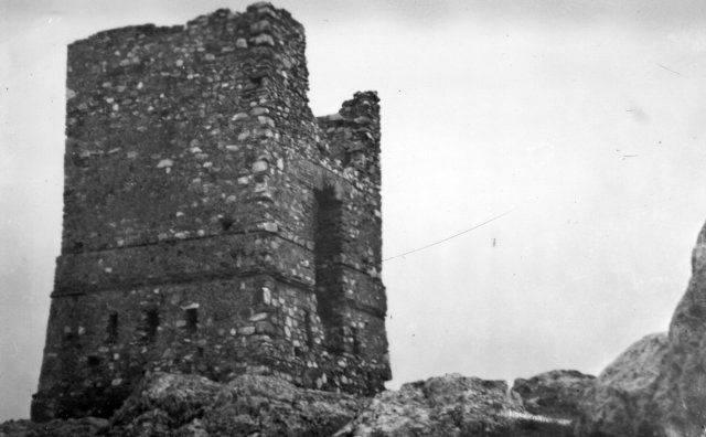 La Chimenea Cuadrá en1962. Cerro Santa Ana