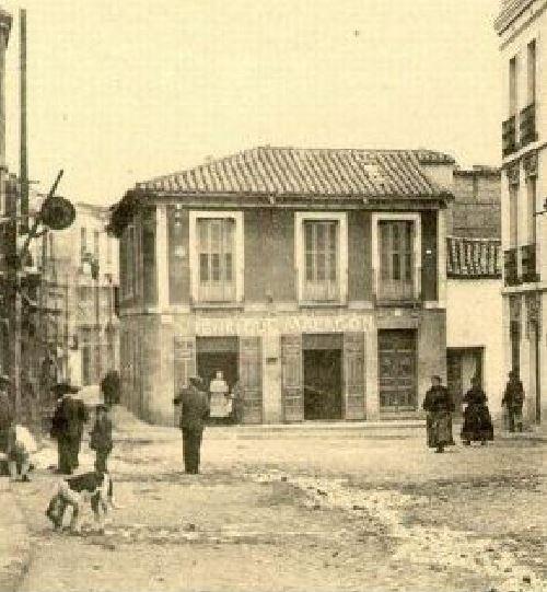 Edificio de la calle Aduana. Fotografía Enrique Malagon.1905-1920.
