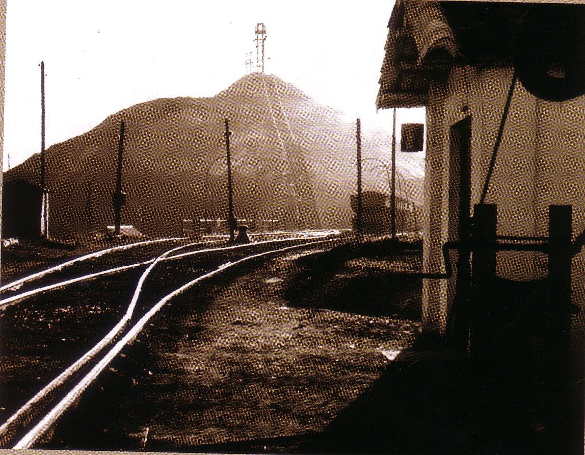 El Terri y los trenes de mercancías